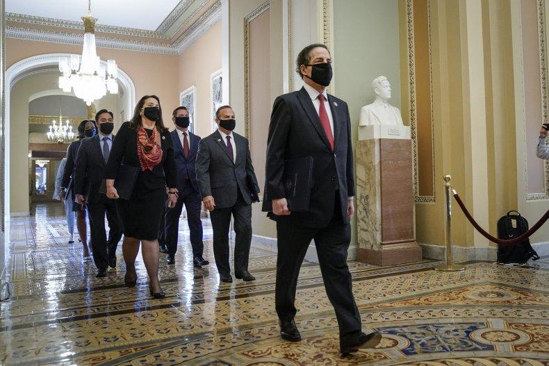 house impeachment managers wrap presentatin