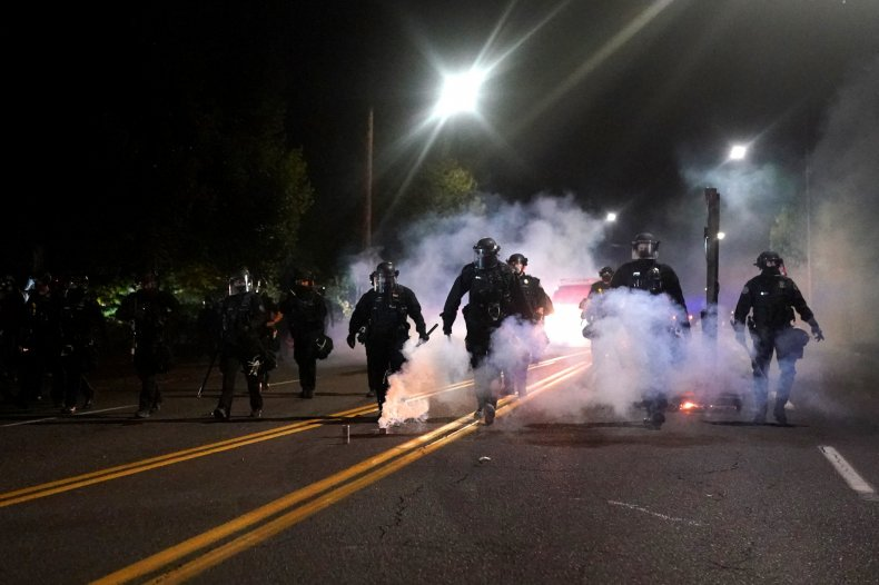 Portland police use of force