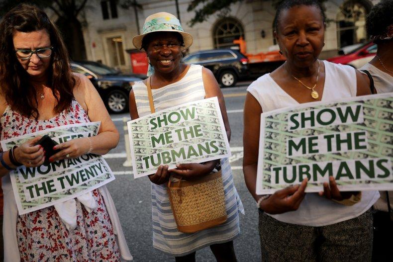 Janet Yellen Harriet Tubman $20 Sasse Shaheen