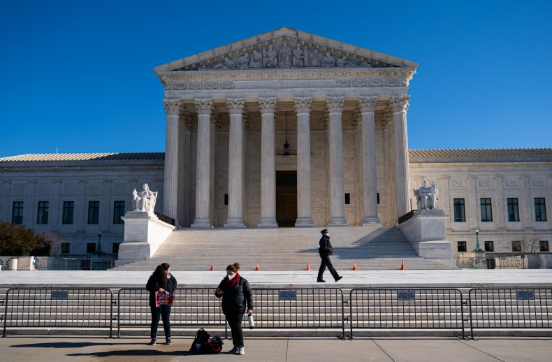 U.S. Supreme Court building on January 7