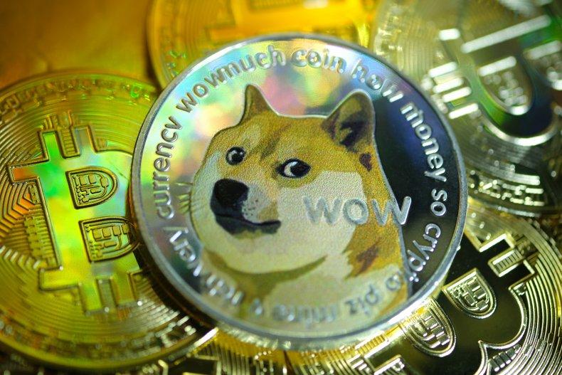 Dogecoin Bitcoin cryptocurrency January 2021
