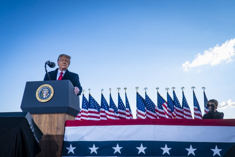 Donald Trump farewell Joint Base Andrews