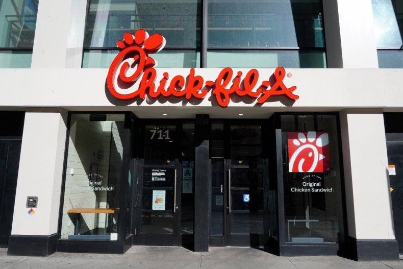 Chick-fil-A NYC May 2020