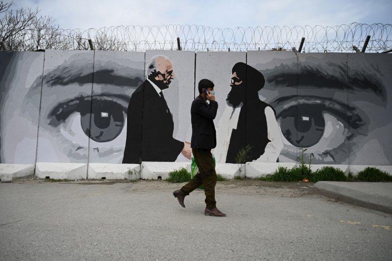 Afghanistan mural