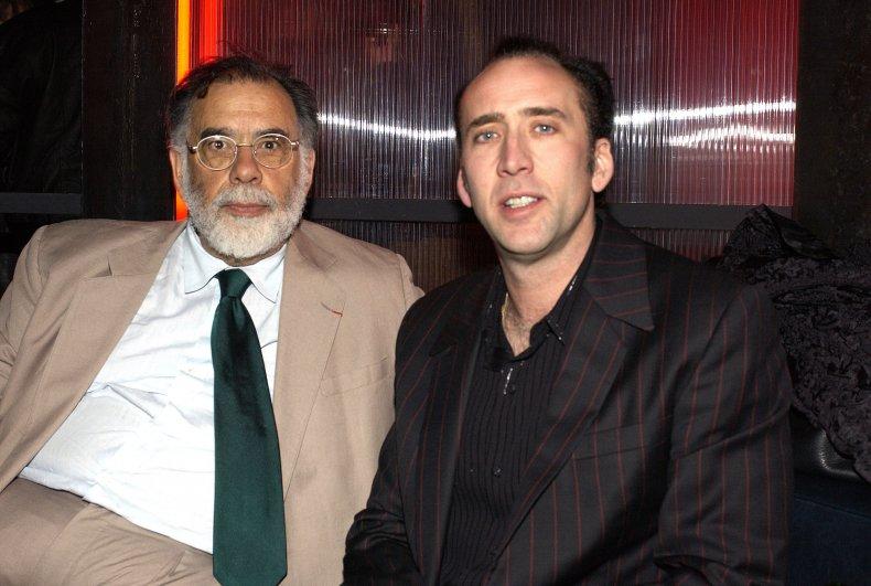 Francis Ford Coppola & Nicolas Cage