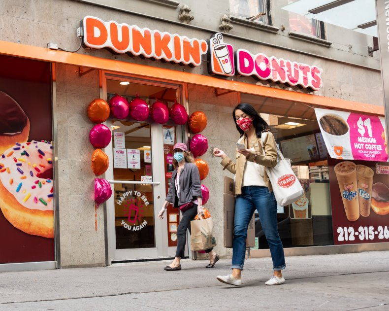 Dunkin' Donuts NYC September 2020