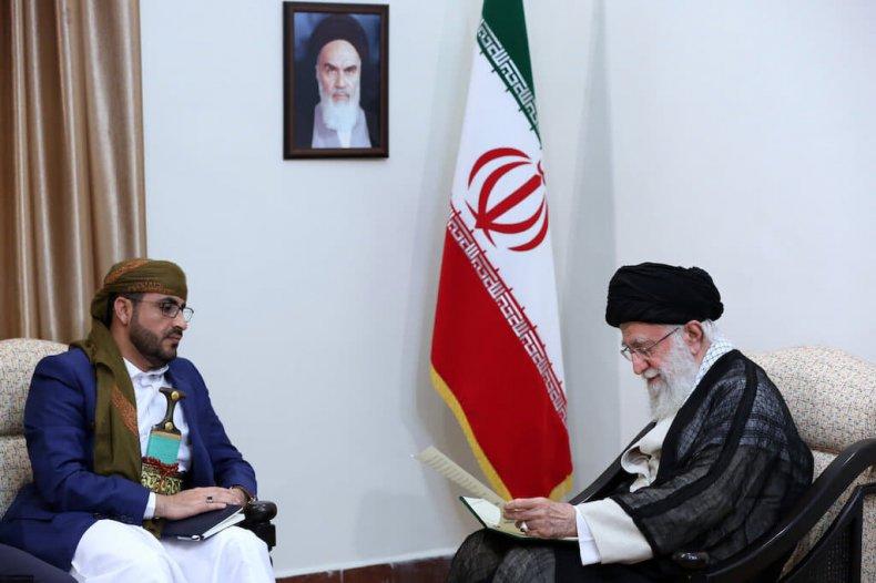 iran, supreme, leader, khamenei, ansar, allah