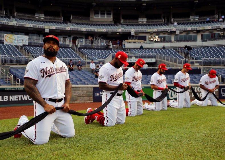 MLB sanctions time for teams to kneel