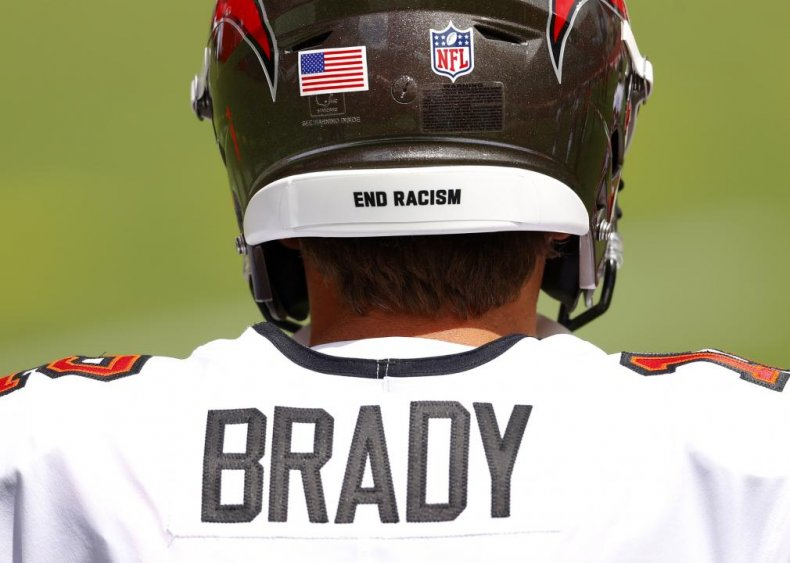 Quarterback Tom Brady calls for an end to police immunity