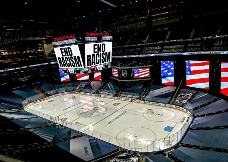 Hockey players join the anti-racism initiative