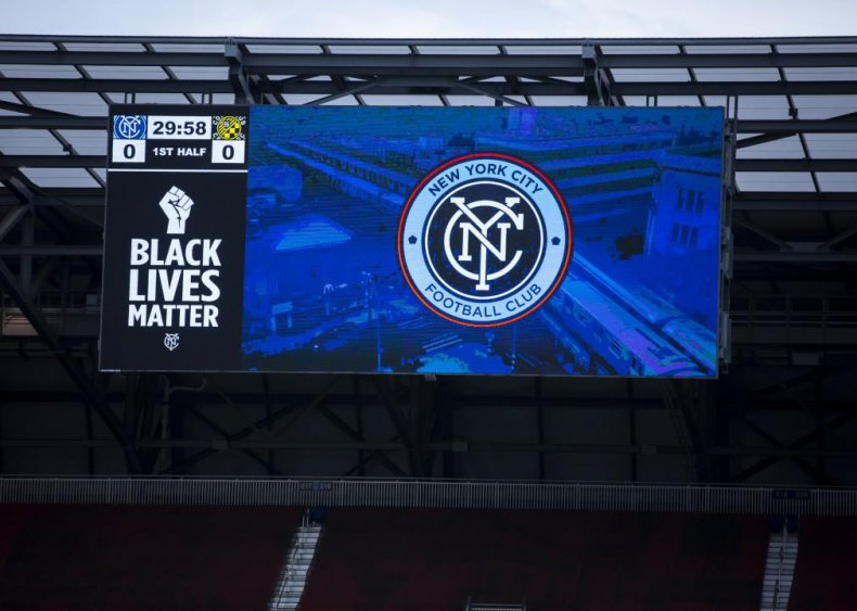 Major League Soccer players join movement for Black lives