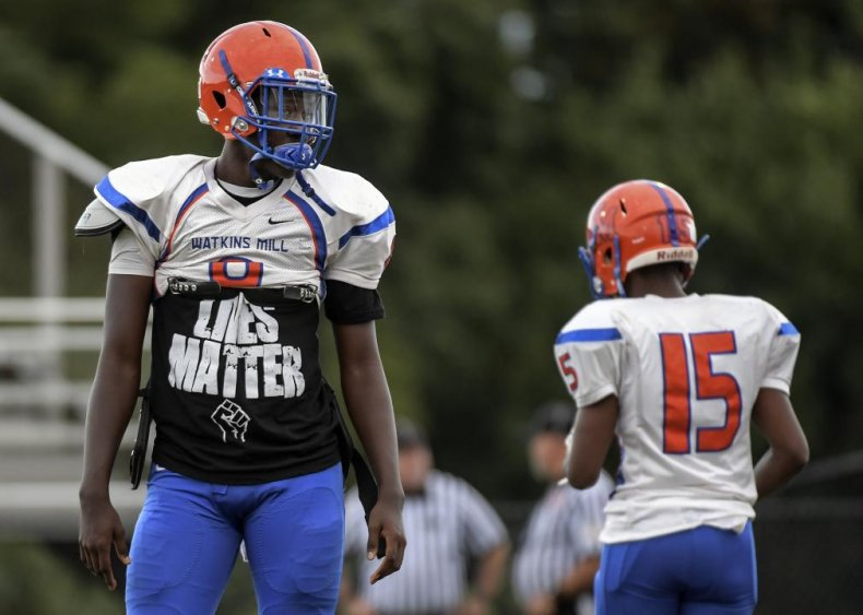 Black Lives Matter in high school sports