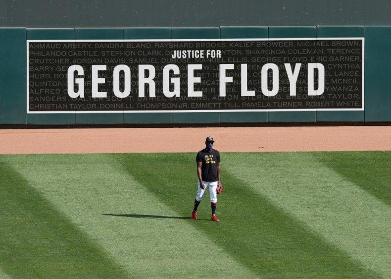 Minnesota Twins highlight George Floyd, killed by police in Minnesota