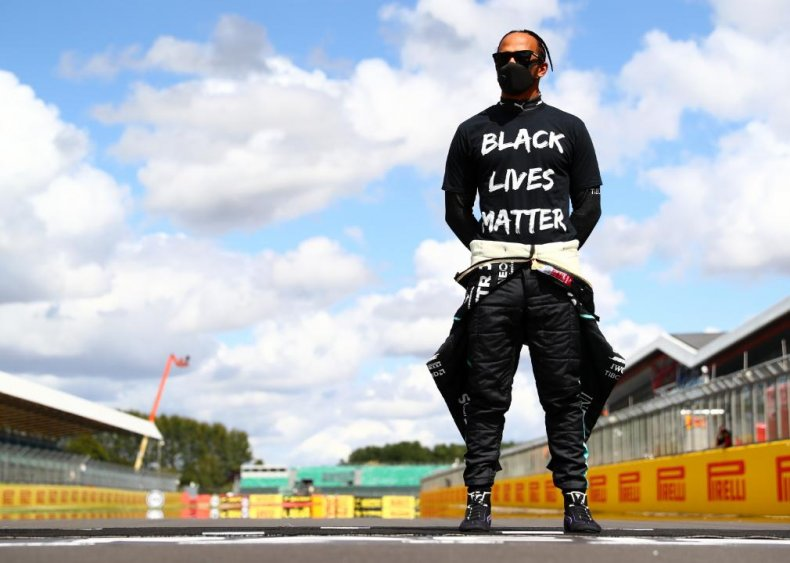 Lewis Hamilton brings attention to the race car world
