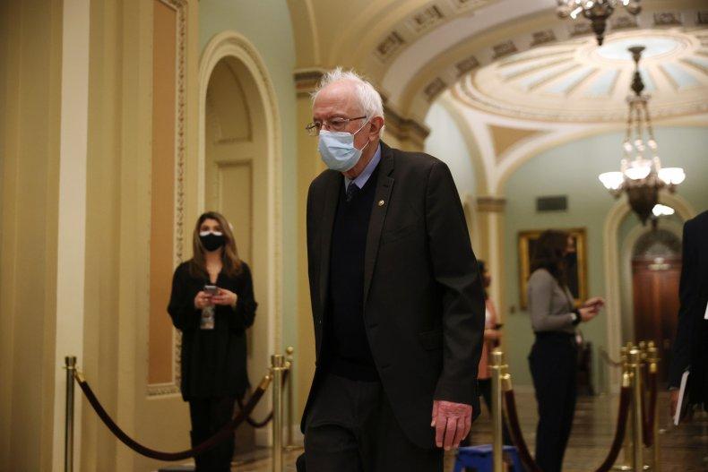 senator bernie sanders trump impeachment 2.0