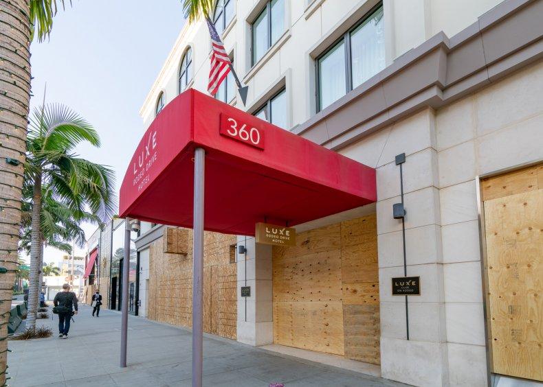 Los Angeles tourism economy job loss