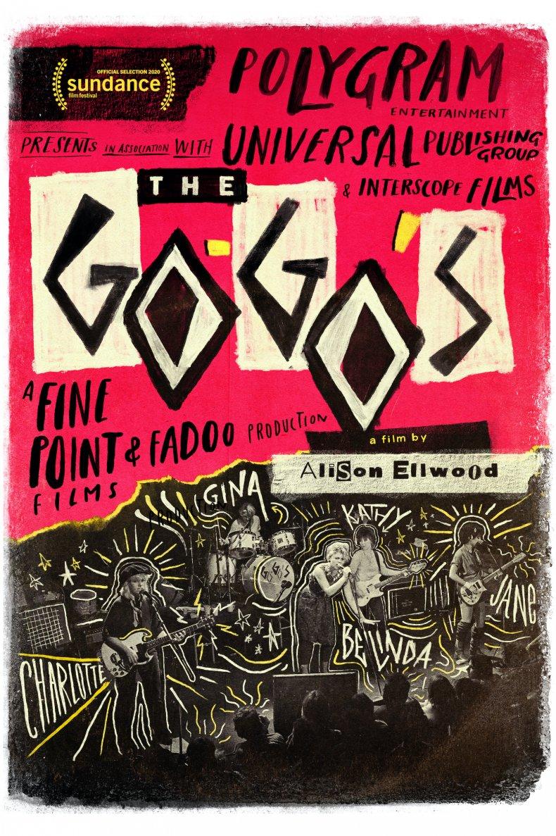 The Go-Go's documentary cover art