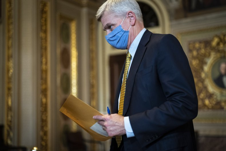 WASHINGTON, DC - FEBRUARY 12: Sen. Bill