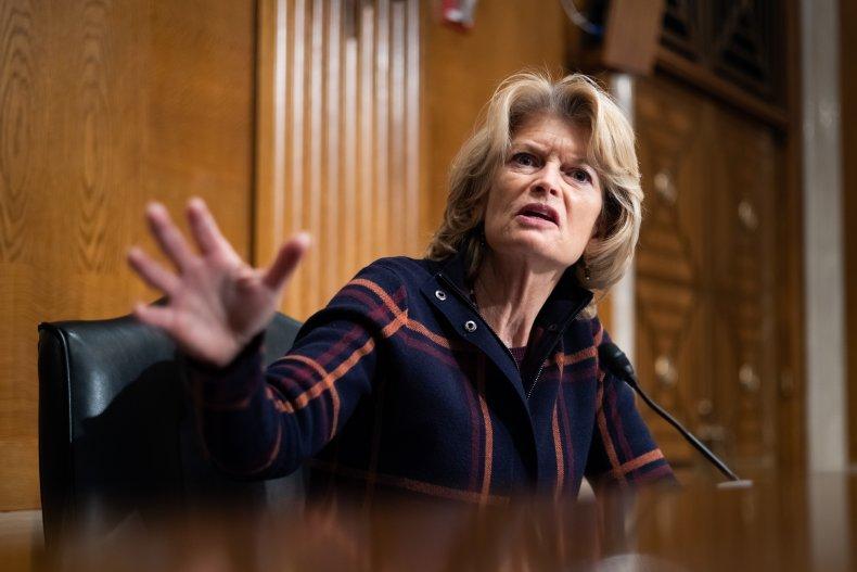 Senator Lisa Murkowski (R-AK) speaks during the