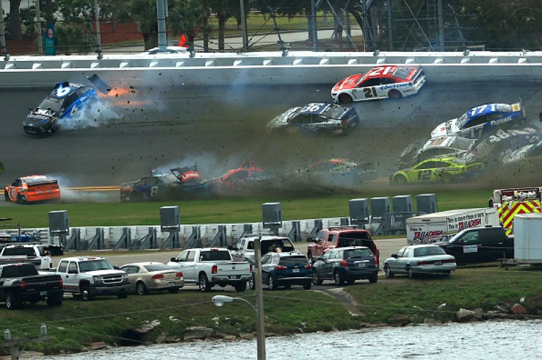 Huge Wreck at 2021 Daytona 500