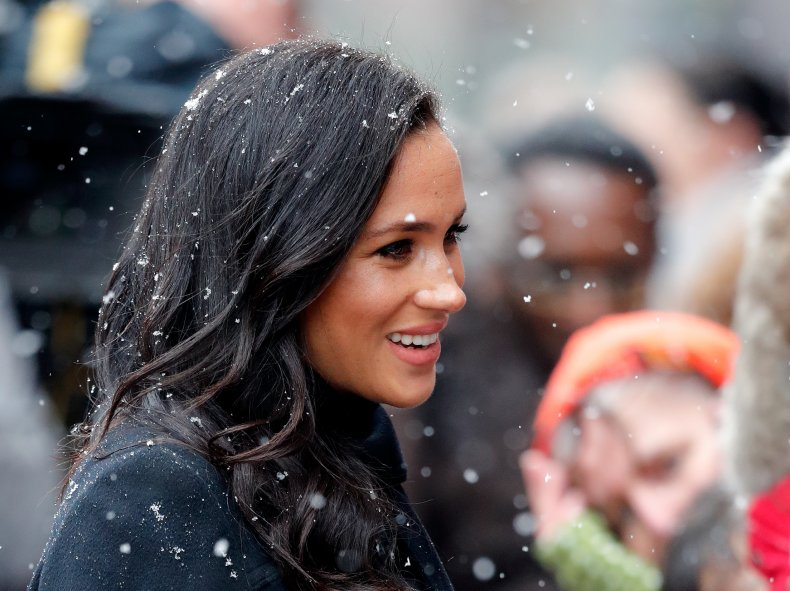 Meghan Markle During First Pregnancy With Archie