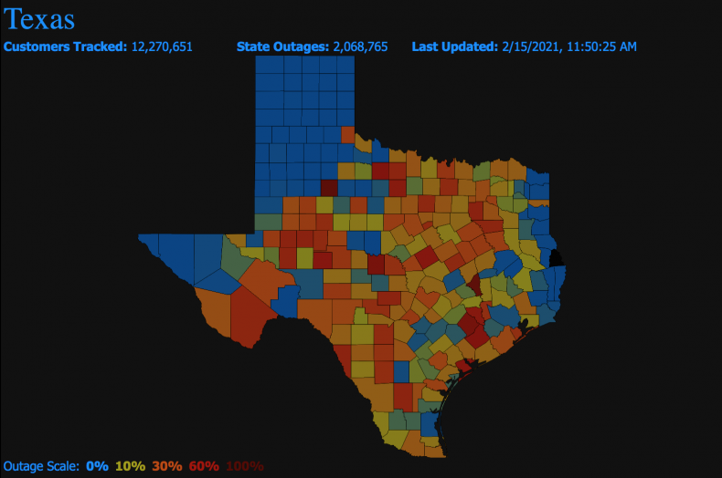 texas outages