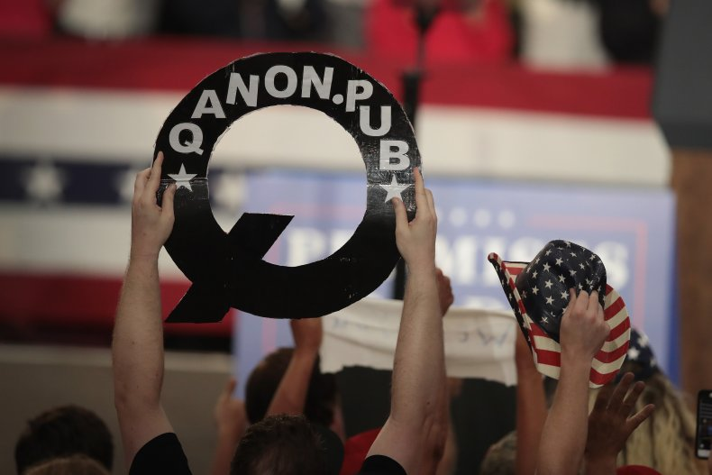 QAnon is a global conspiracy movement