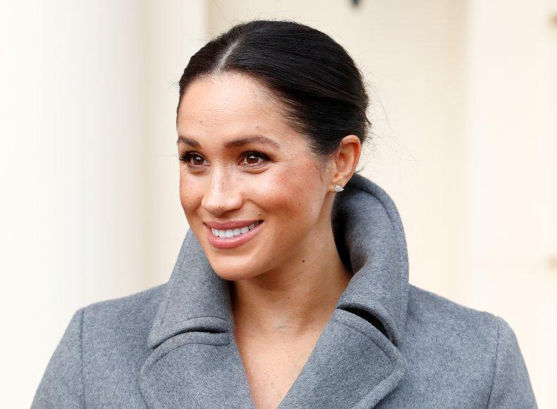Meghan Markle Visits Royal Variety Charity
