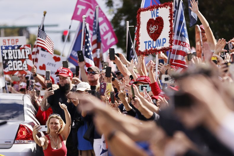 trump rally west palm beach presidents day