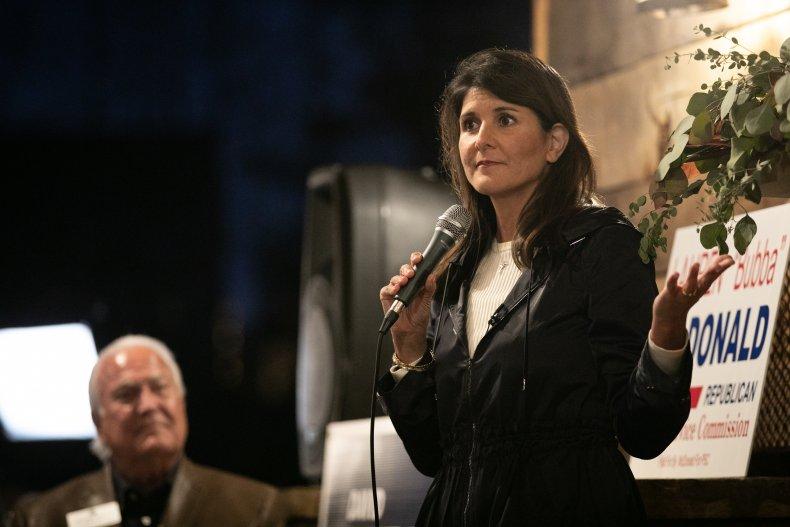 Former U.N. Ambassador Nikki Haley
