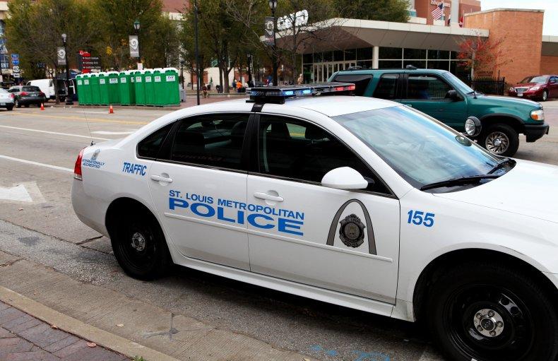 St Louis Missouri Metropolitan Police Department Car