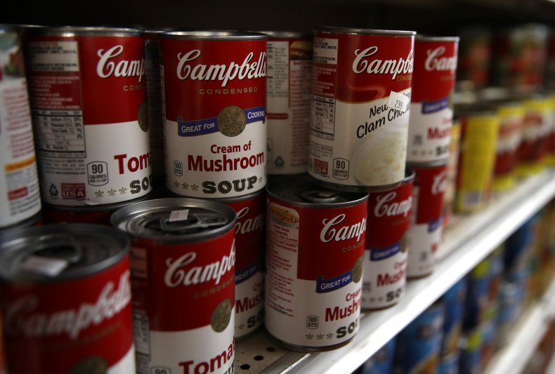 Campbell's soup cans California store 2019