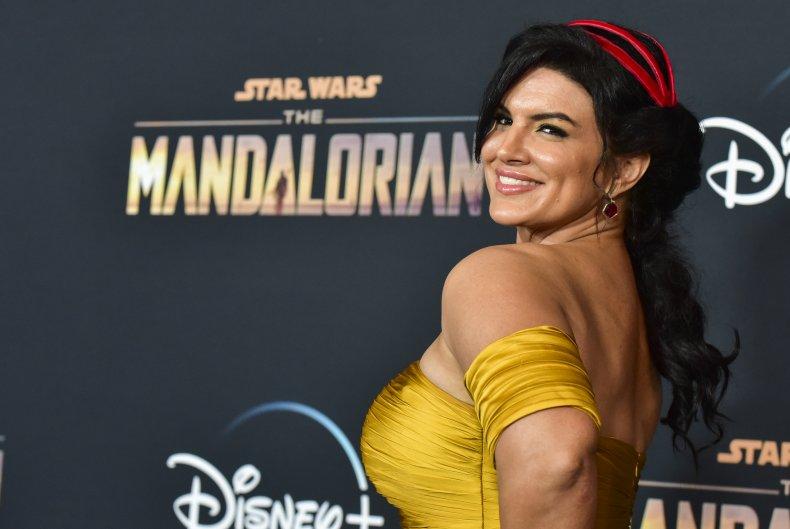Gina Carano Star Wars Mandalorian
