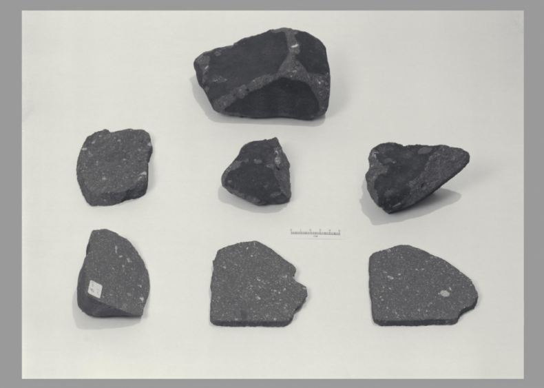 The Earth and moon trade meteorites