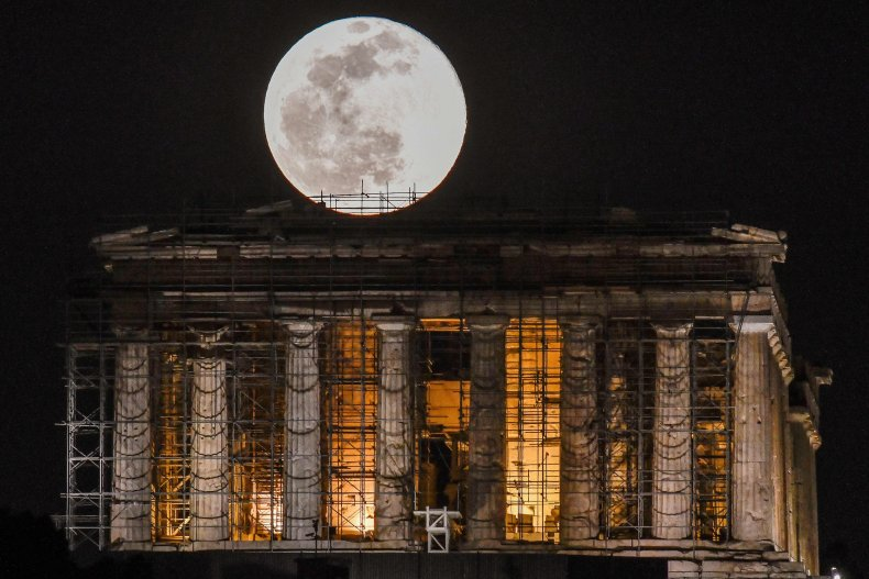 Moon Greece