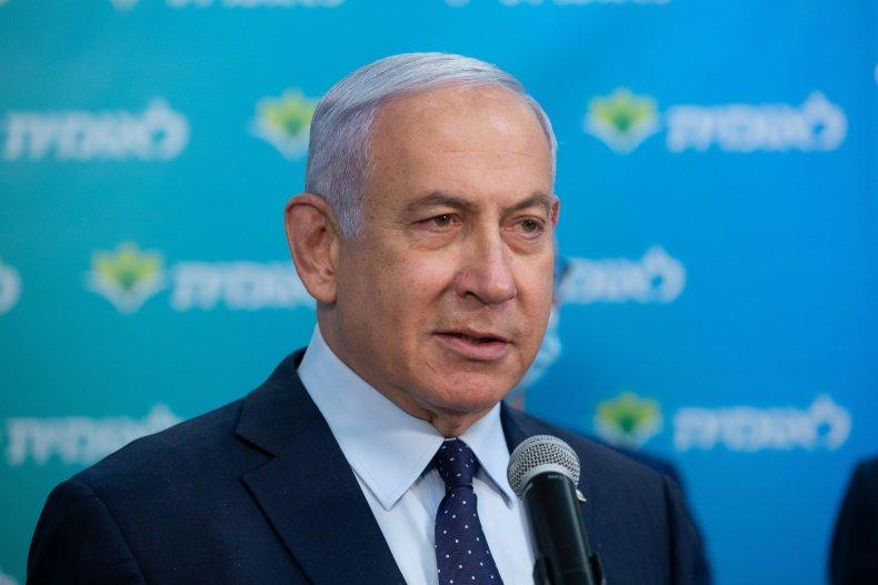 Israeli PM Netanyahu February 2021