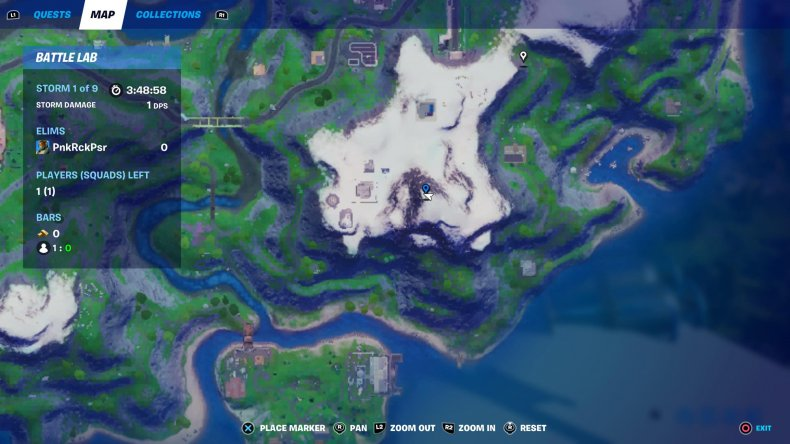 fortnite mount kay location map