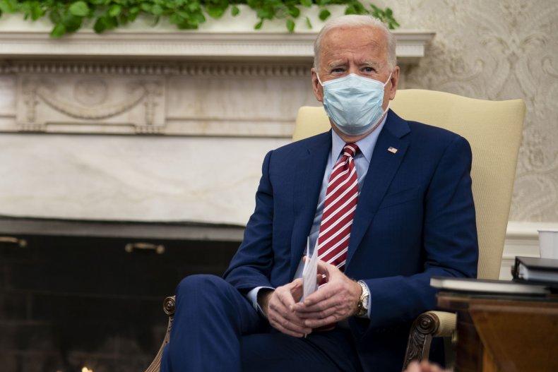 Joe Biden Oval Office 2/11/2021