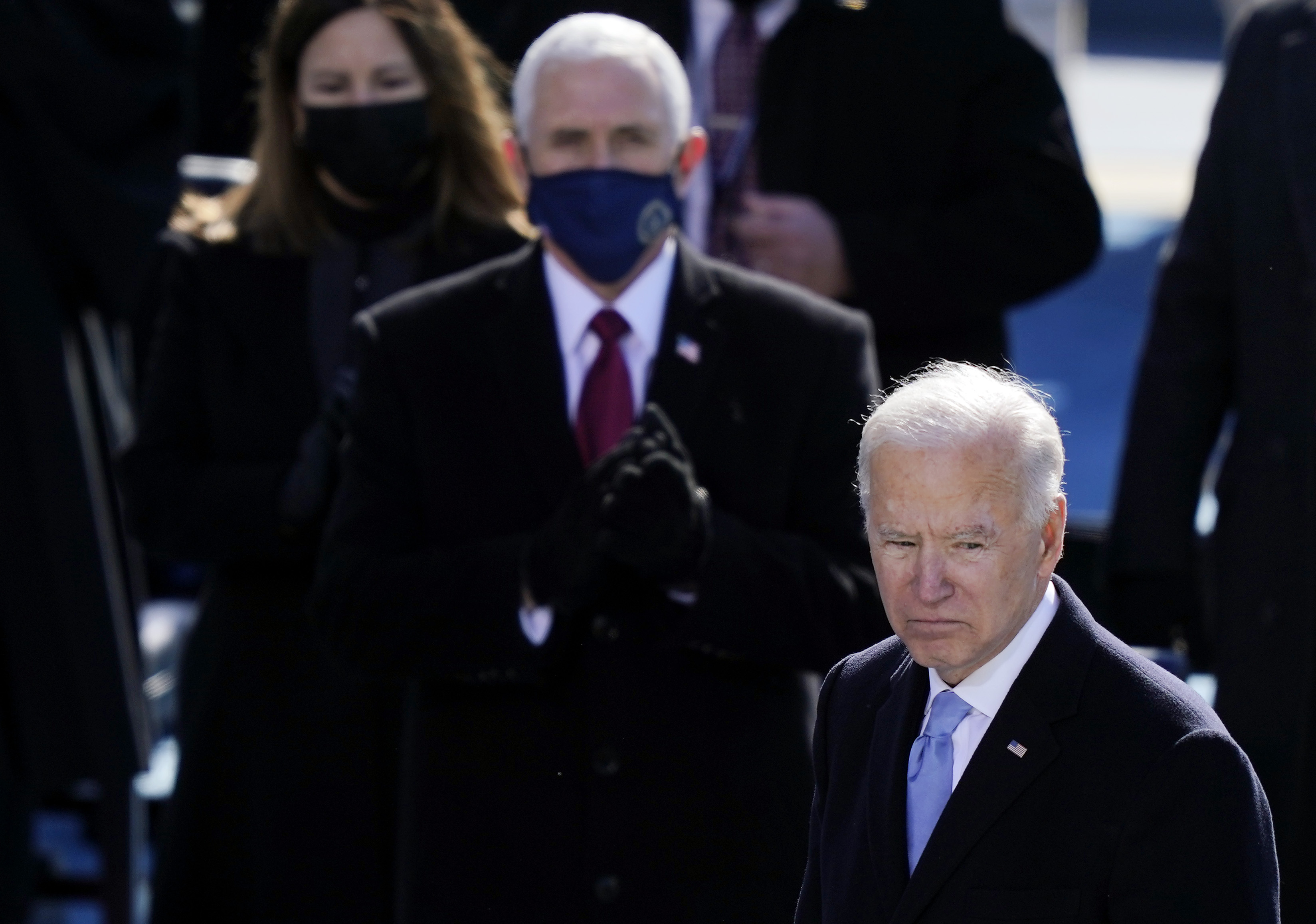 More Americans Believe Joe Biden 'Very Responsible' for Capitol Riot Than Mike Pence: Poll thumbnail