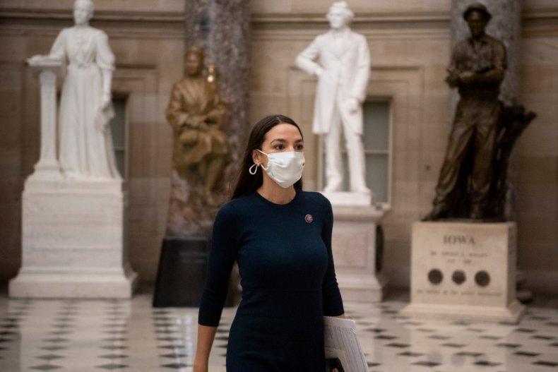 US Representative Alexandria Ocasio-Cortez