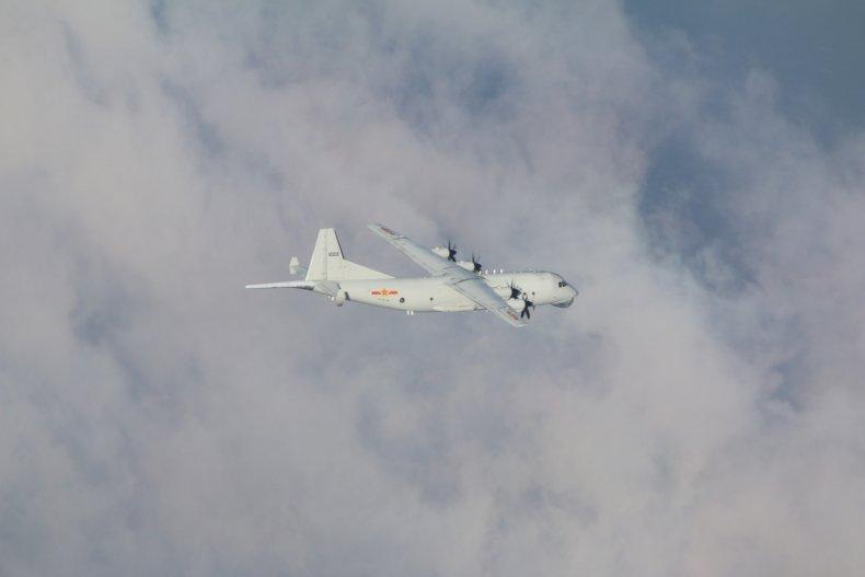 Chinese Warplane Flies Into Taiwan's ADIZ