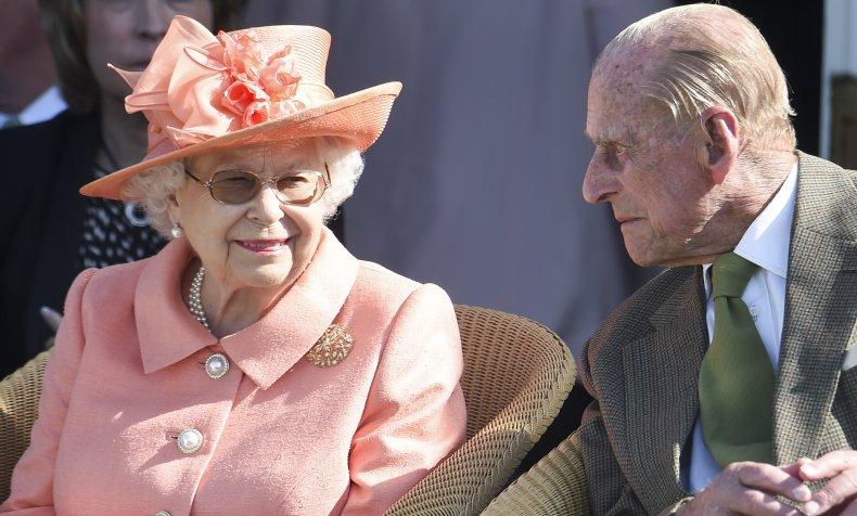 Queen Elizabeth II and Husband Prince Philip