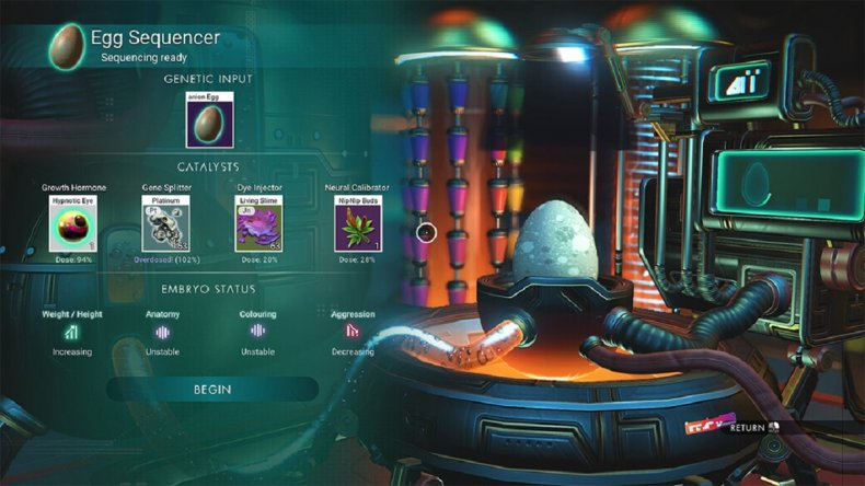 no mans sky update 320 eggs