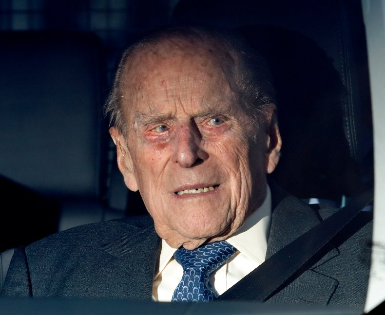 Prince Philip at Queen's Christmas Pre-Christmas Lunch