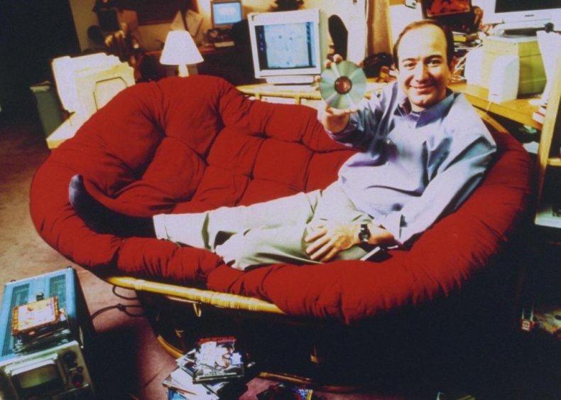 1994: Bezos founds Amazon