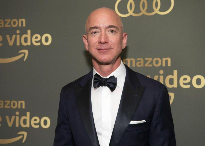 2017-2020: Bezos richest man in the world