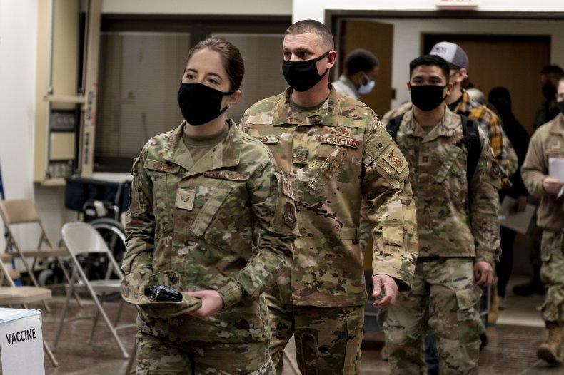 U.S. Air Force, Coronavirus, Vaccine
