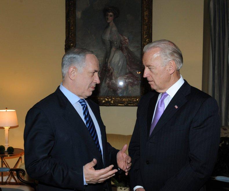 Joe Biden Benjamin Netanyahu Isreal Phone Call