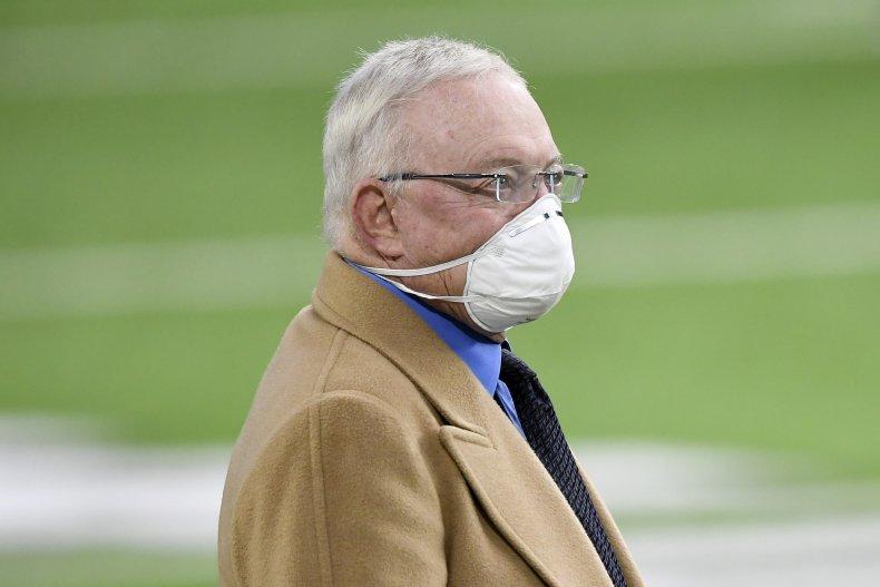 Dallas Cowboys' owner Jerry Jones