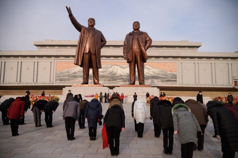 Kim Il Sung and Kim Jong Il